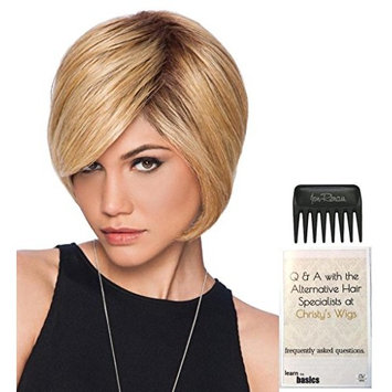 Layered Bob Wig by Hairdo, 15 Page Christy's Wigs Q & A Booklet & Wide Tooth Comb COLOR SELECTED: SS1488