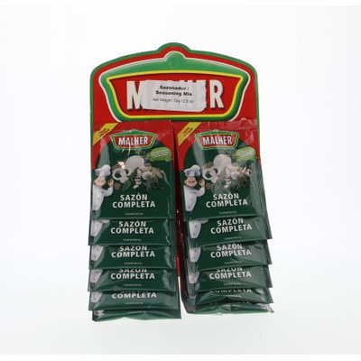 Malher Full Sazon - Sazon Completa 12 Units (Pack of 20)