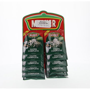 Malher Full Sazon - Sazon Completa 12 Units (Pack of 40)