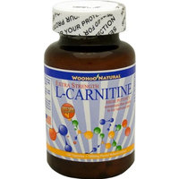 Woohoo Natural Extra Strength L-carnitine, High Potency, 120 Capsules