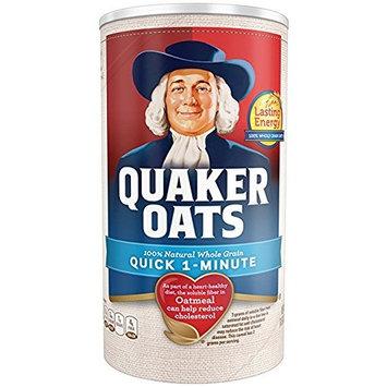 Quaker Oats, Quick 1-Minute Oatmeal, Breakfast Cereal,