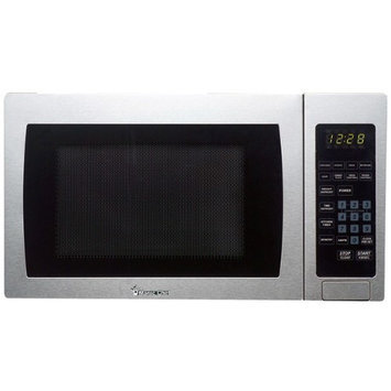 Magic Chef Microwave Ovens 0.9 cu. ft. Countertop Microwave in Stainless Steel MCM990ST