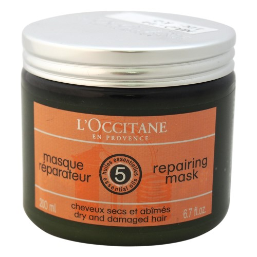 L Occitane Aromachologie Reparing Shine Mask For Hair-NO COLOUR-One Size
