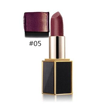Lipstick,Toraway Shimmer Gold Lipstick Glitter Pigment Metallic Lip Gloss Long Lasting Eyeshadow (Purple)