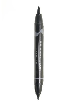 Prismacolor Premier Double-Ended Brush Tip Markers neutral grey 60%, 221 [pack of 6]
