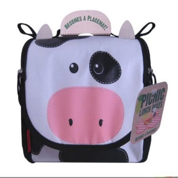 Neat Oh Clyde Cow Farm Animals Theme Picnic Lunch Box