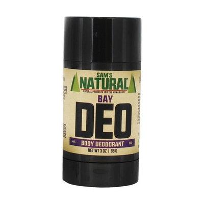 Sam's Naturals - Men's Deo Body Deodorant Stick Cedar - 3 oz. [Cedar]