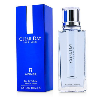 Aigner 28649 Clear Day Eau De Toilette Spray for Men 100 ml-3.3 oz