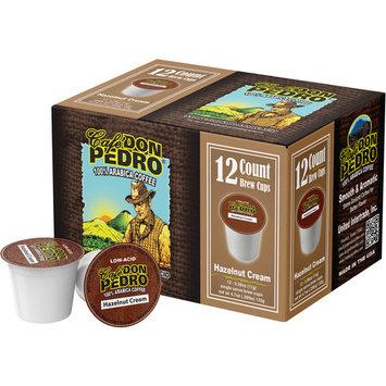 Cafe Don Pedro Hazelnut Cream Coffee, 0.39 oz, 12 count