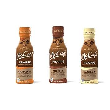 McCafe Frappe Coffee Beverages (3 Flavor Sampler Pack)