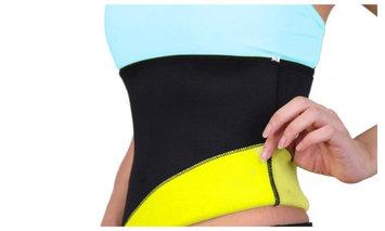 Yphone Sweat-Plus Workout Abdominal Detox Waist Trimmer Belly Fat Burner Weight Loss Spot Belt-XL