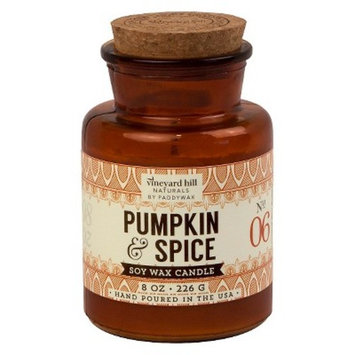Apothecary Jar Candle Pumpkin Spice 8oz - Vineyard Hill Naturals by Paddywax®