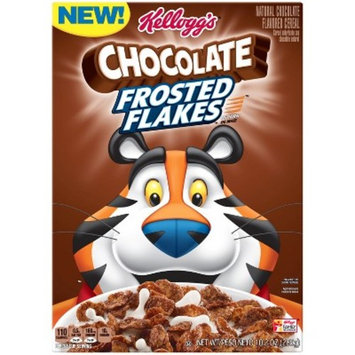 Frosted Flakes Chocolate Breakfast Cereal - 10.2oz - Kellogg's