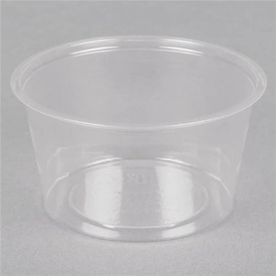 Amhil Enterprises ASB325 CPC 3.25 oz Clear Portion Cup - Case of 2500