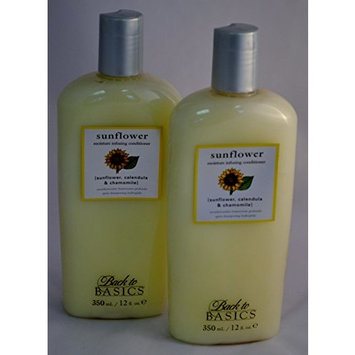Back to Basics Sunflower Moisture Infusing Conditioner 12 oz ~ 2 PACK