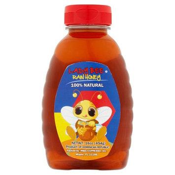 Lady Bee Raw Honey, 16 oz