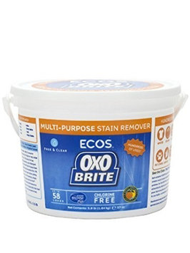 Earth Friendly - OXO Brite Color Safe Whitener & Brightener For Laundry & Stain Removal Fragrance-Free - 3.6 lbs. (2-Pack)