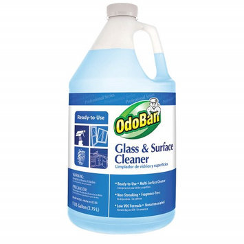 OdoBan Cleaning Products 128 oz. Glass and Surface Cleaner 934062-G