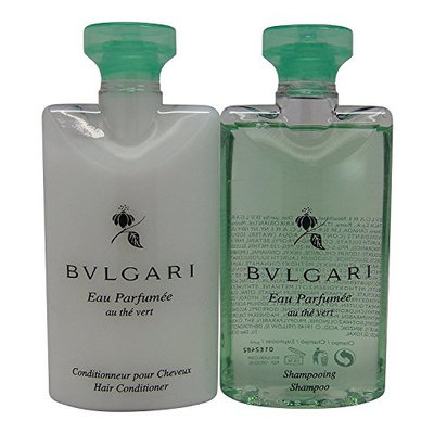 Bvlgari Au the Vert (Green Tea) Shampoo & Conditioner Lot of 6 (3 of Each)