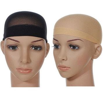 Unisex Stocking Wig Cap Snood Mesh Black