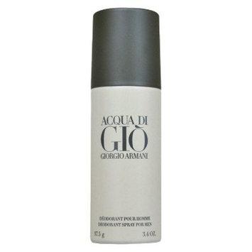 Men's Acqua Di Gio by Giorgio Armani Deodorant Spray (Can) - 3.4 oz BALBOA BLUE