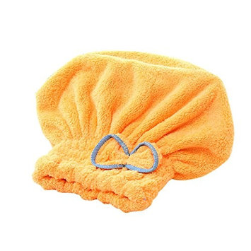 dds5391 Women Coral Fleece Quick Dry Hair Hat Bathing Tool Drying Towel Bath Cap