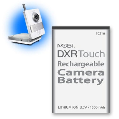 Mobi Technologies Inc. MOBI Technologies Inc Mobicam DXR Touch Rechargeable Camera Battery