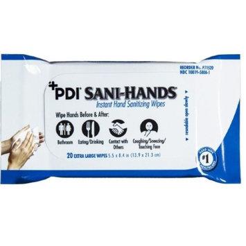 Professional Disposables Sani-Hands Sanitizing Skin Wipe - P71520CS - 960 Each / Case