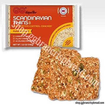 Health Valley - GG Unique Fiber Scandinavian Thins with Pumpkin Seeds - 3.5 oz.