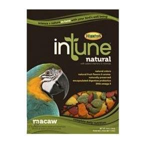 Higgins InTune Macaw Bird Food 40 lb