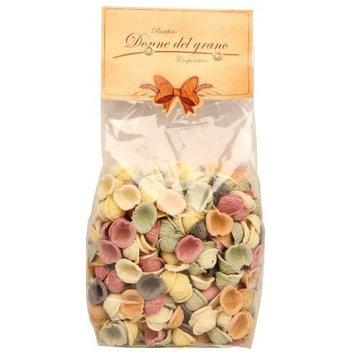 Donne Del Grano Little Ears/Orecchiette Italian Pasta, Colored, 500-Gram Bags (Pack of 2)