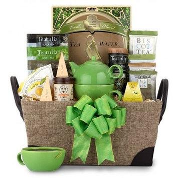 Tazo Tea Gourmet Tea Gift Set | Great Tea Gift for Any Tea Drinker! | Organic Stores Gift Baskets (Tazo Tea)