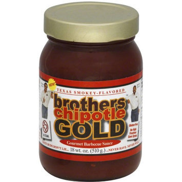 BROTHERS 113934 18 oz. Barbeque Sauce - Chipotle Gold