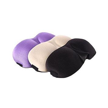 3D Unisex Sleep Mask for Sleeping Contoured Shape with Adjustable Strap Blocks Light for Travel Nap Shift Work Eyeshade