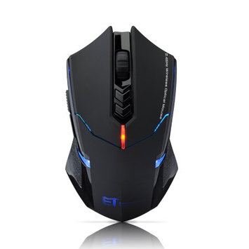 VicTsing ET X-08 2400 DPI Adjustable 2.4G Wireless Professional Gaming Mouse Support Surface