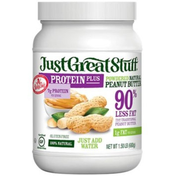 Just Great Stuff Protein Powdered Peanut Butter (1.5 Pound Powder) by Betty Lous at the Vitamin Shoppe