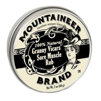 Mountaineer Brand Granny Vicars Muscle Rub, 2 Oz