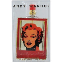 Andy Warhol Marilyn Red 246196 Eau de Toilette Spray 1.7-Oz Limited Edition