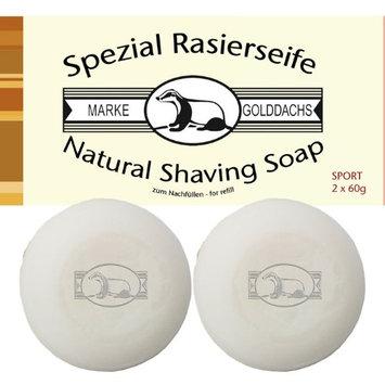 60 gram GOLDDACHS Shaving Soap - Set of 2