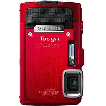 Olympus Optical Co Ltd Olympus Tough TG-830 iHS 16MP Red Digital Camera