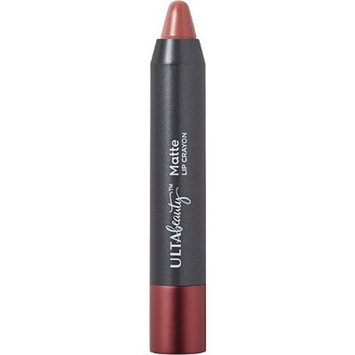 Ulta Matte Lip Crayon Lipstick Cheers Medium Rosy Brown Shade .08 Ounce Full Size Sealed
