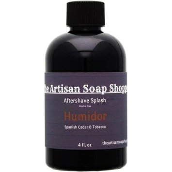 The Artisan Soap Shoppe After-Shave Splash, Humidor
