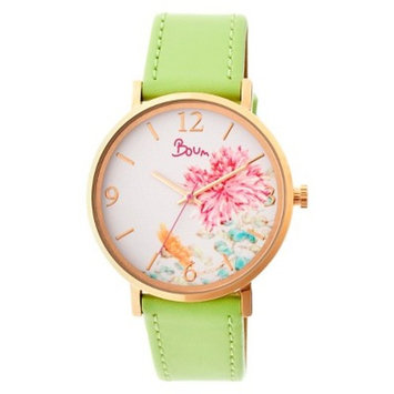 Women's Boum Mademoiselle Watch with Leather Strap