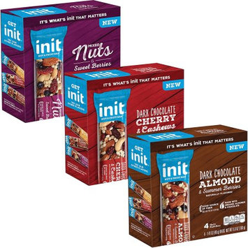 Quaker Foods And Distribution Inc. Init Bars, 12ct Variety Pack