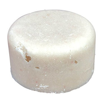 Sugar Puck,Unique Sugar Scrub Soap Bar, Exfoliating, Foaming, Moisturizing and Fizzing, Pomegranate Scent, By Diva Stuff