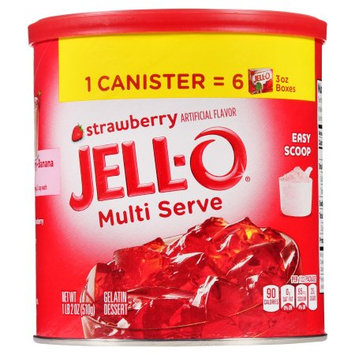 Kraft Foods Jell-0 Instant Gelatin Strawberry 18z