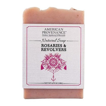 American Provenance 232449 4.75 oz Rosaries & Revolvers Bar Soap