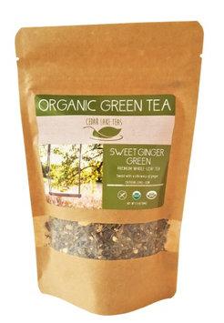 Cedar Lake Teas Organic Sweet Ginger Green 2.4 oz