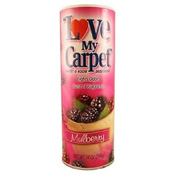 Love My Carpet Mulberry Carpet Odor Eliminator and Deodorizer