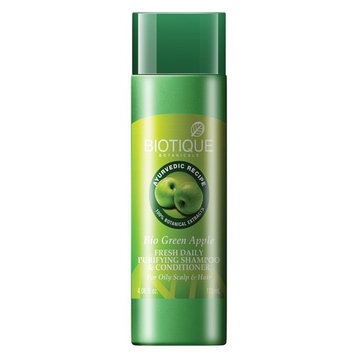 Biotique Bio Green Apple Fresh Daily Purifying Shampoo & Conditioner For Oily...